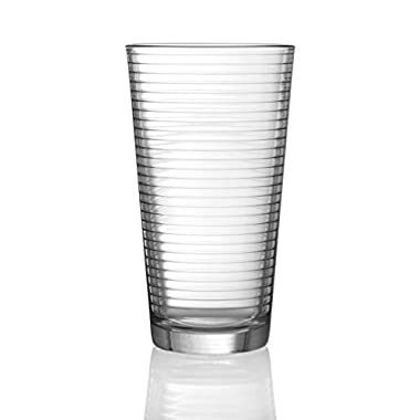In Style 17 Oz Highball Drinkware Glasses Set of 4