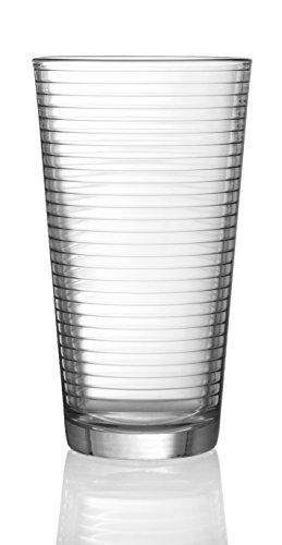 In Style Furnishings 17 Oz Highball Drinkware Glasses Set of 4 by In Style Furnishings