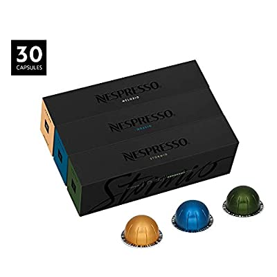 Nespresso Vertuoline Coffee, Best Seller Assortment, 30 Capsules