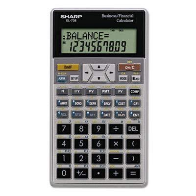 SHREL738FB - EL-738C Financial Calculator