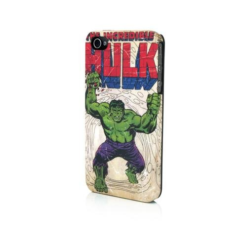 Performance Designed Products IP-1407 Marvel Hulk Brick Clip Case for iPhone 4 - 1 Pack - Retail Packaging - Assorted