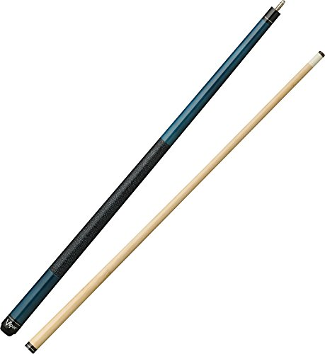 "Viper Elite 58"" 2-Piece Billiard/Pool Cue, Azure Blue, 19 Ounce"