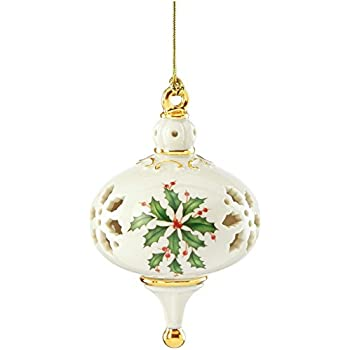 Amazoncom Lenox 2016 Annual Holiday Ornament Home  Kitchen