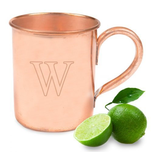 Personalized 17 oz. Moscow Mule Copper Mug w/ Polishing Cloth by Cathy's Concepts by Cathy's Concepts by Cathy's Concepts