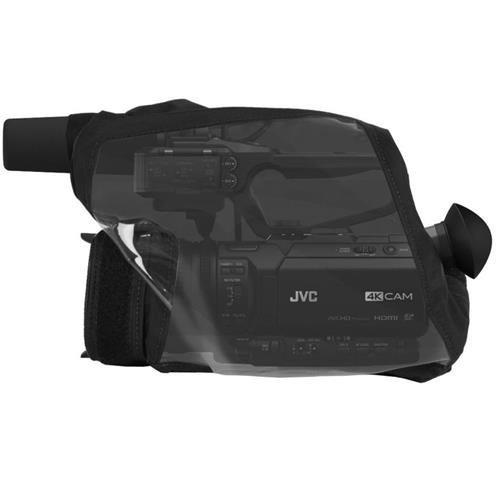 PortaBrace QRS-HM200 Quick Rain Slick, JVC GY-HM200, Black Rain Cover by PortaBrace (Image #1)