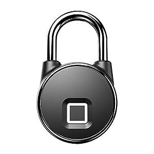 41bsM3wZX5L. SS300 Novopus:Lucchetto Bluetooth intelligente per impronte digitali, impermeabile/esterno/elettronico/piccola serratura…