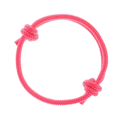 Pink Nautical Pack - Wind Passion Nautical Braided Stylish Mono Rope Cord Women Bracelet (Pink Dreams)