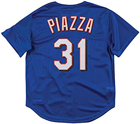 timeless design 16fb3 38b54 Amazon.com : Mitchell & Ness New York Mets Mike Piazza 1999 ...