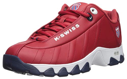 K-Swiss Men's ST329 Heritage Sneaker, red-Navy, 10, used for sale  Delivered anywhere in Canada