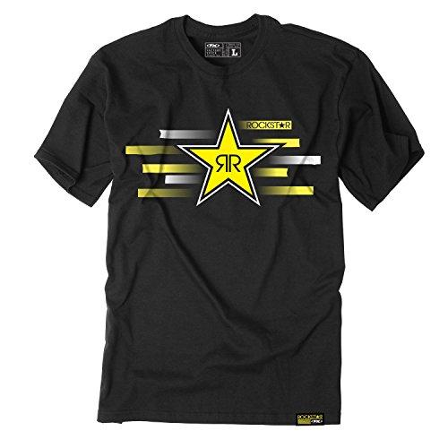 Factory Effex (18-87606) Rockstar T-Shirt (Black, X-Large)