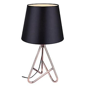 Amazon.com: Canarm itl672 a22bz Callie 1 lámpara de mesa de ...