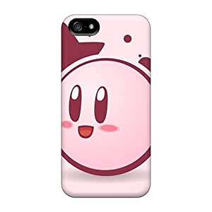 Protector Hard Phone Case For Iphone 5/5s With Custom Attractive Kirby Skin Cases-best-covers