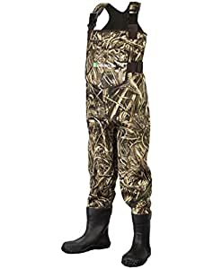 Oakiwear Toddler & Little Childrens' Neoprene Waterproof Fishing Waders Camo, 3T Toddler