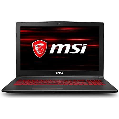 chollos oferta descuentos barato MSI GV62 8RD 011XES Ordenador portátil de 15 6 Full HD Intel Core i7 8750H 8 GB RAM 256 GB SDD 1 TB HDD Nvidia GeForce GTX 1050Ti Negro Teclado QWERTY Español