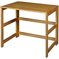 Regency Flip Flop 31-inch Folding Desk- Medium Oak