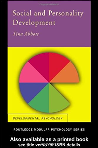 Social and Personality Development (Routledge Modular