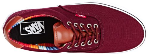 Vans U Era 59, Baskets mode mixte adulte Rouge (Port Royale/Multi Stripe)