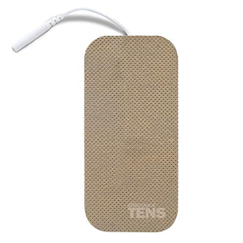 TENS Wired Electrodes Compatible with TENS 7000 - Premium Replacement Pads for TENS Units - Discount TENS Brand (2x4-8 Pack)…