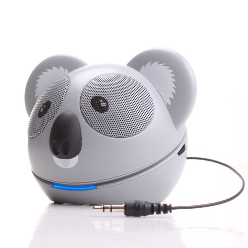 GOgroove Koala Pal High-Powered Portable Speaker System for MP3 Players , Smartphones , Laptops , Desktops , Tablets , and More