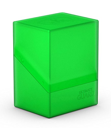 Ultimate Guard Boulder Deck Case 80+ Card Game, Emerald, Small ()