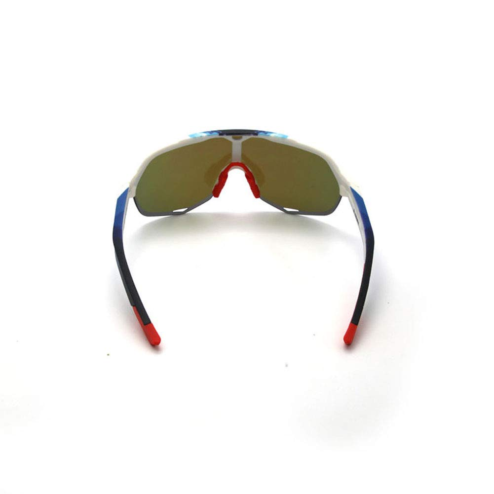 Ciclismo Gafas de Sol Deportivas polarizadas Gafas Ciclistas para Hombres QWERDF Gafas de Sol Deportivas Conducir,F Lentes Intercambiables Deportes Escalada