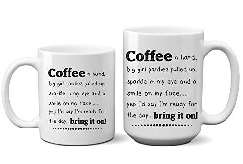 Funny Bring it On Diva Princess Coffee Mug
