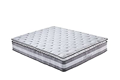 Swiss Ortho Sleep High Density 13-inch Hybrid Memory Foam and Spring Mattress with Plush Pillow Top