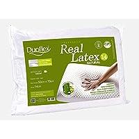 Travesseiro Real Duoflex Branco 45cmx65cm Espuma 100% Látex