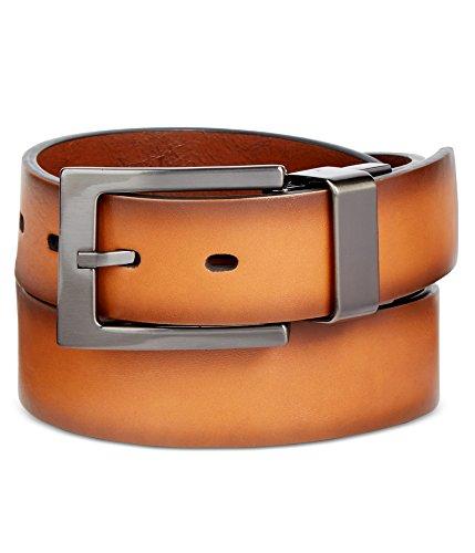 Alfani Mens Ombre Belt Brown (Alfani Belt)