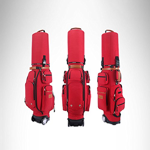 PGM Padded Travel Cover Bag With Wheels With coded lock----Free Send a Rain Cover (red) by PGM (Image #5)