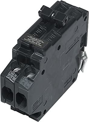 UBITBA215-New Challenger MH215 Type A Replacement. Two Pole 15 Amp Clip Circuit Breaker Manufactured by Connecticut Electric.