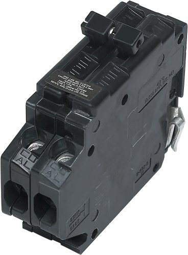 Circuit Breaker Clip (UBITBA215-New Challenger MH215 Type A Replacement.  Two Pole 15 Amp Clip Circuit Breaker Manufactured by Connecticut Electric.)