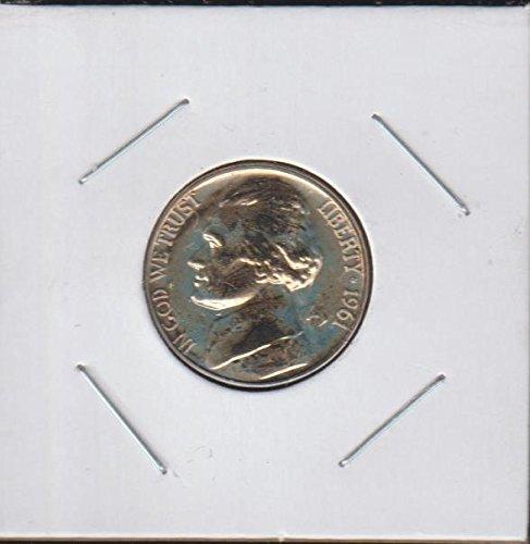 1961 Jefferson (1938- to Date) Nickel Proof US Mint 1961 Jefferson Nickel Proof