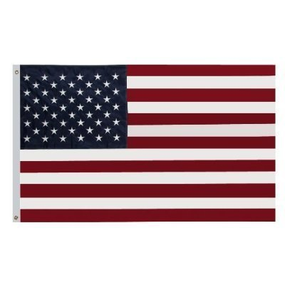 Flags Unlimited United States American Flag - Nylon 12 Inche
