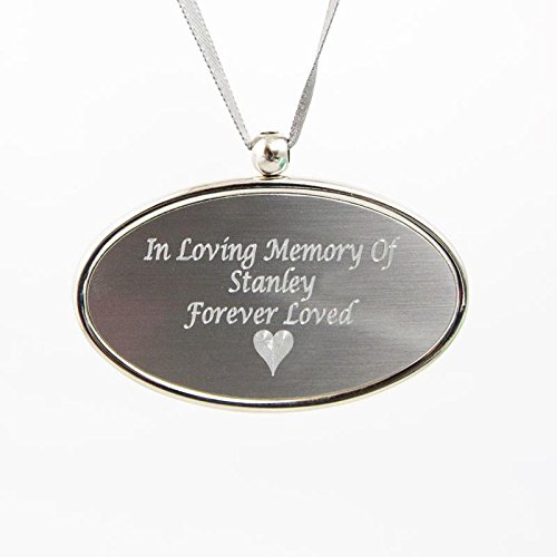 OneWorld Memorials Metal Urn Pendant - Pewter Silver - Custom Engraving Included (Urn Pewter Pendant)