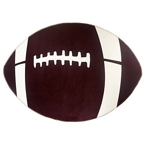 CAMAL Rug Pads, Football Model Carpet Pad for Yoga Children Play and Decorative Sports Theme Room (Football)