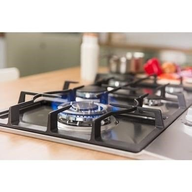 Russell Hobbs RH75GH601SS Stainless Steel 75cm Wide Free 2 Year Guarantee 5 Burner Gas Hob
