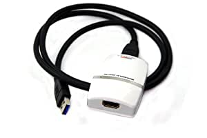 USB 3.0 to HDMI/DVI Multi Monitor Video Adapter