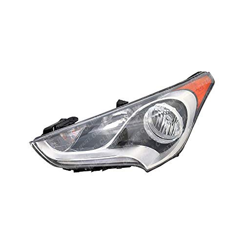 TYC 20-9302-00 Mazda2 Left Replacement Head Lamp