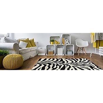 white fluffy rug bedroom. soft shag round area rug 5 ft. zebra black white shaggy - contemporary fluffy bedroom