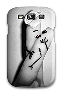 Fashionable Style Case Cover Skin For Galaxy S3- Love Kiss 2014 On Valentines Day