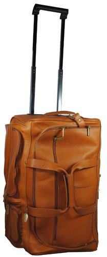 David King & Co. 20 Inch Rolling Duffel, Tan, One Size by David King & Co