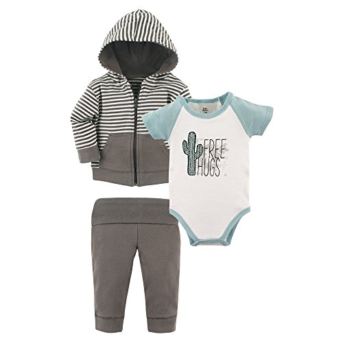 Yoga Sprout Baby Infant 3 Piece Jacket, Top and Pant Set, Free Hugs, 12-18 Months Free Jacket Patterns