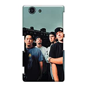 Customcases88 Sony Xperia Z3 Mini Protector Hard Phone Case Unique Design High Resolution Linkin Park Band Image [WlM2557Fyff]