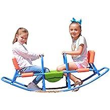[Patrocinado] slidewhizzer mecedora silla alta balancín interior, exterior Play–bebé, niño, niños, niñas, niños, jóvenes Ride On Toy–sala de estar, césped, Patio, Patio de recreo–Regalos, fiesta–a partir de 4–8subibaja
