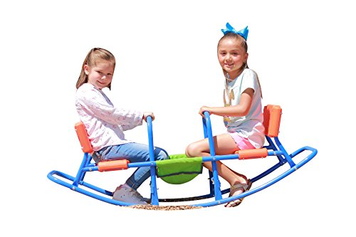 Best Price! SLIDEWHIZZER Indoor Rocking HIGH Chair Seesaw: Outdoor Play - Baby, Toddler, Boys, Girls...