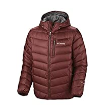 Columbia Mens Nature Ridge Hooded Down Jacket, XL