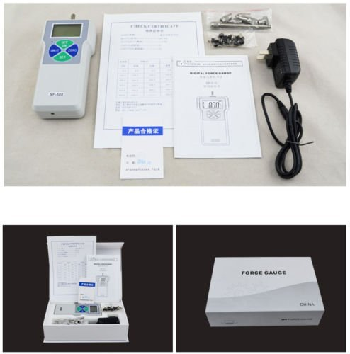 cjc Pressure Tester Meter Digital Push Pull Force Gauge High Precision 0.1N/0.01N/0.001N Digital Dynamometer Pressure Tester (0.001N/5N) by cjc (Image #4)