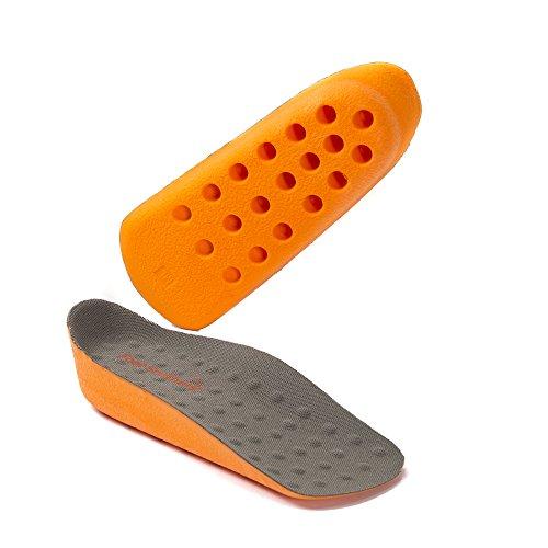 footsoothers® in-sock Arch für Orange Höhe Erhöhung Heel Lift Einlegesohlen