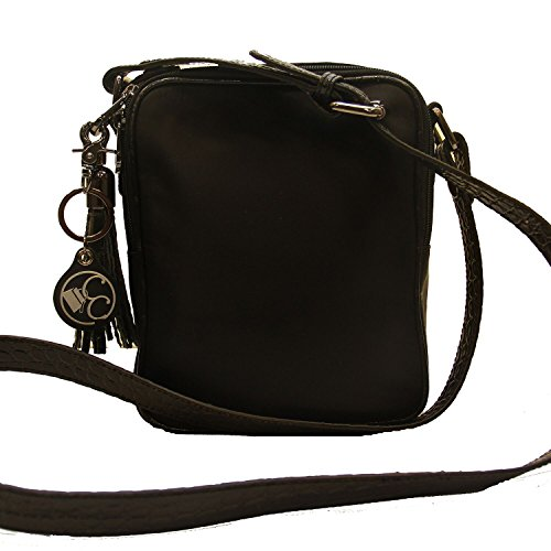 dce7806475d6 80%OFF Concealed Carrie Concealed Carry Black Crocodile Crossbody ...